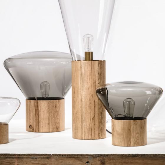Tafellamp-designlapm-hout-glas-designstudio