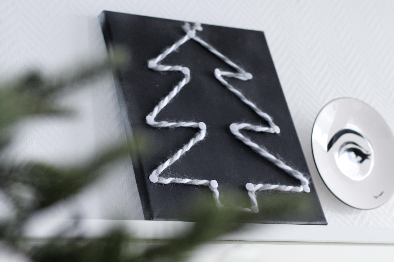 Diy Kerst Op Canvas Hemelryk